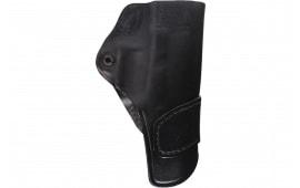 Blackhawk 420404BKR For Glock 26/27 Adjustable Black Leather