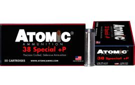 Atomic 00419 38SPC+P 148 Lead HP - 50rd Box