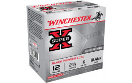 "Winchester Ammo XBP12 Super-X Black Powder Blank 12 GA 3"" - 25rd Box"