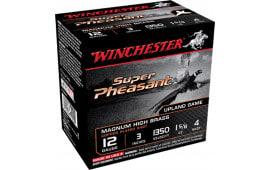 "Winchester Ammo X123PH4 Super Pheasant Plated HV 12 GA 3"" 1-5/8oz #4 Shot - 250sh Case"