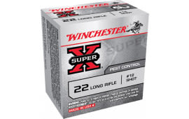 Winchester Ammo X22LRS Super-X 22 Long Rifle 40 GR #12 Shot - 50rd Box