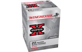 Winchester Ammo X22SB Super-X Black Powder Blank 22 Short - 50rd Box