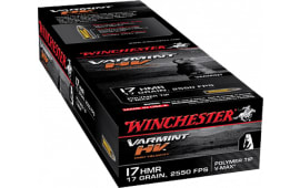 Winchester Ammo S17HMR1 Supreme 17 Hornady Magnum Rimfire (HMR) 17 GR V-Max - 50rd Box