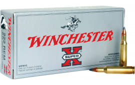 Winchester Ammo X222R Super-X 222 Remington 50  GR Pointed Soft Point - 20rd Box