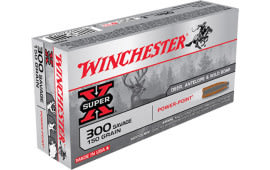 Winchester Ammo X3001 Super-X 300 Savage 150 GR Power-Point - 20rd Box