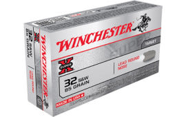 Winchester Ammo X32SWP Super-X 32 Smith & Wesson 85 GR Lead Round Nose - 50rd Box