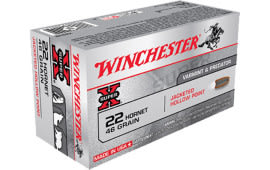 Winchester Ammo X22H2 Super-X 22 Hornet 46  GR Hollow Point - 50rd Box