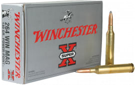 Winchester Ammo X2642 Super-X 264 Winchester Magnum 140  GR Power-Point - 20rd Box