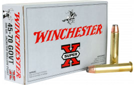 Winchester Ammo X4570H Super-X 45-70 Government 300  GR Jacketed Hollow Point - 20rd Box
