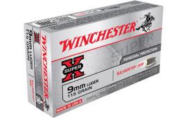 Winchester Ammo X9MMSHP Super-X 9mm Luger 115  GR Silvertip HP - 50rd Box