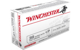 Winchester Ammo Q4205 Best Value 38 Special 130  GR Full Metal Jacket - 50rd Box