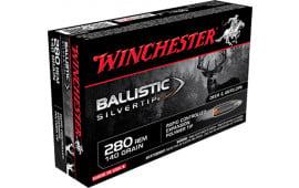 Winchester Ammo SBST280 Supreme 280 Remington 140  GR Ballistic Silvertip - 20rd Box