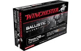 Winchester Ammo SBST708 Supreme 7mm-08 Remington 140  GR Ballistic Silvertip - 20rd Box