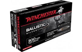 Winchester Ammo SBST300SA Supreme 300 Winchester Short Magnum 180  GR Ballistic Silvertip - 20rd Box