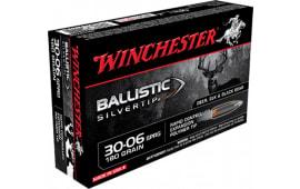 Winchester Ammo SBST3006B Supreme 30-06 180  GR Ballistic Silvertip - 20rd Box