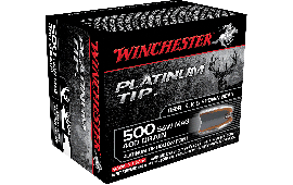 Winchester Ammo S500PTHP Supreme 500 Smith & Wesson 400 GR Platinum Tip Hollow Point - 20rd Box