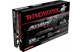 Winchester Ammo S338LCT Supreme 338 Lapua Magazine 300  GR AccuBond CT - 20rd Box
