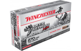 Winchester Ammo X270SDS Deer Season XP 270 Winchester Short Magnum 130  GR Extreme Point - 20rd Box