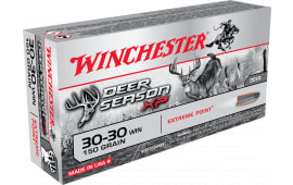 Winchester Ammo X3030DS Deer Season XP 30-30 Winchester 150  GR Extreme Point - 20rd Box