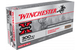 Winchester Ammo X300BLKX Super-X 300 AAC Blackout/Whisper (7.62X35mm) 200  GR Hollow Point SubSonic - 20rd Box