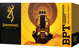 Browning Ammo B191800381 BPT Performance 38 Special 130  GR Full Metal Jacket - 50rd Box