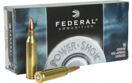 Federal 243B Power-Shok 243 Winchester 100  GR Soft Point - 20rd Box