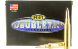 DoubleTap Ammunition 338L300LR DT Longrange 338 Lapua Magnum 300 GR Hollow Point Boat Tail - 20rd Box