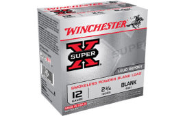 "Winchester Ammo XP12 Super-X Smokeless Blank 12GA 2.75"" - 250rd Case"