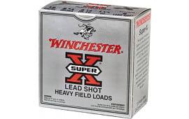 """Winchester Ammo XU12SP8 Super-X Game & Field 12GA 2.75"""" 1-1/4oz #8 Shot - 250sh Case"""