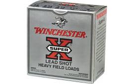 """Winchester Ammo XU12H4 Super-X Game & Field 12GA 2.75"""" 1-1/8oz #4 Shot - 250sh Case"""