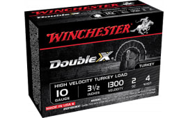 "Winchester Ammo STH104 Double X Turkey 10GA 3.5"" 2oz #4 Shot - 10sh Box"