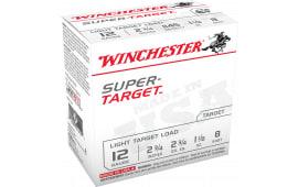 "Winchester Ammo TRGT128 Super Target 12GA 2.75"" 1-1/8oz #8 Shot - 250sh Case"
