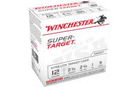 "Winchester Ammo TRGTL129 Super Target 12GA 2.75"" 1oz #9 Shot - 250sh Case"