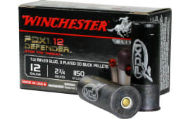"Winchester Ammo S12PDX1 Elite PDX1 Defender 12GA 2.75"" 1oz 00 Buck/Rifle Slug Shot - 10sh Box"
