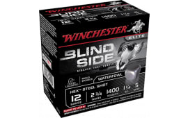 "Winchester Ammo SBS125 Blindside 12GA 2.75"" 1-1/4oz #5 Shot - 250sh Case"