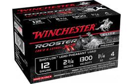 "Winchester Ammo SRXR124 Rooster XR 12GA 2.75"" 1-1/4oz #4 Shot - 15sh Box"