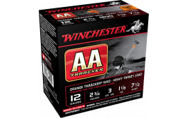 "Winchester Ammo AAM127TO AA TrAAcker 12GA Overcast Training Heavy 12GA 2.75"" 1-1/8oz #7.5 Shot - 250sh Case"