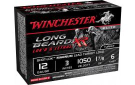 "Winchester Ammo STLB123M6 Long Beard XR 12GA 3"" 1-7/8oz #6 Shot - 10sh Box"