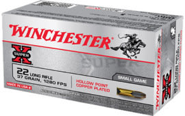 Winchester Ammo X22LRH Super-X 22 Long Rifle (LR) 37 GR Lead Hollow Point - 50rd Box