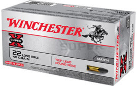 Winchester Ammo XT22LR Super-X 22 Long Rifle 40 GR Lead Round Nose - 50rd Box