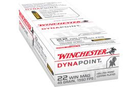 Winchester Ammo USA22M Best Value 22 WMR 45 GR Dynapoint - 50rd Box