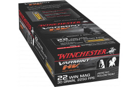 Winchester Ammo S22M2 Supreme 22 WMR 30 GR Jacketed Hollow Point - 50rd Box