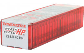 Winchester Ammo XHV22LR Super-X 22 Long Rifle (LR) 40 GR Hollow Point - 100rd Box