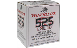Winchester Ammo 22LR525HP 555 22 Long Rifle 36 GR Copper-Plated Hollow Point - 525rd Box