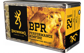 Browning Ammo B194122050 BPR Performance 22 Long Rifle 37 GR Fragmenting 1000rds - 1000rd Case