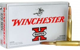 Winchester Ammo X2705 Super-X 270 Winchester 130 GR Power-Point - 20rd Box