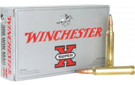 Winchester Ammo X30WM2 Super-X 300 Winchester Magnum 180 GR Power-Point - 20rd Box