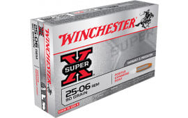 Winchester Ammo X25061 Super-X 25-06 Remington 90 GR Positive Expanding Point - 20rd Box