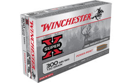 Winchester Ammo X30WM1 Super-X 300 Winchester Magnum 150 GR Power-Point - 20rd Box