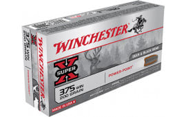 Winchester Ammo X375W Super-X 375 Winchester 200 GR Power-Point - 20rd Box